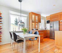 70-80平米房屋开放式厨房装修设计图片