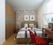 80-90平米卧室墙衣柜装修效果图