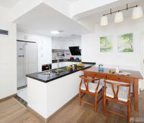 80-90平方小户型开放式厨房设计图片