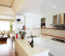 80-90平方小户型厨房橱柜装修样板间大全