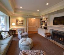 最新110-120平米室内欧式风格图