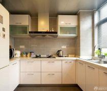 90平米住房厨房橱柜装修效果图片