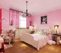 可爱80个平方儿童房间装修设计效果图片