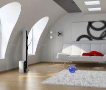 家装60平米大阁楼装修沙发床设计图片
