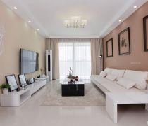 最新80多平米便宜的白色家具装修效果图片