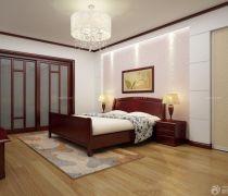80多平米便宜的卧室玻璃门装修图片