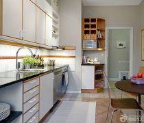 70-80平米房屋新房厨房装修效果图大全