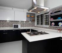 最新创意厨房设计图厨房瓷砖贴图设计