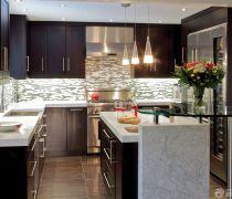 雅致厨房设计图厨房瓷砖贴图设计