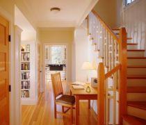 80平米的房子木制楼梯装修图片欣赏