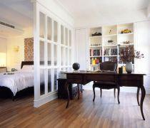 最新80平米的房子卧室隔断装修图片