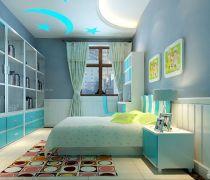 70平米房最省钱的装修儿童房间效果图片