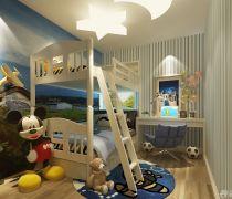 70平米小三房可爱儿童房间如何装修