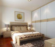 最新70平米小三房卧室衣柜如何装修
