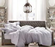 温馨60平米两居室慵懒沙发床装修设计图片