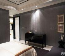 2020卧室装饰灰色墙面装修设计效果图片