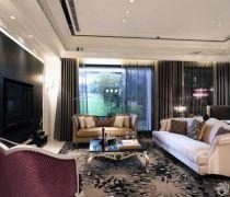 2020新古典风格客厅装修样板房大全