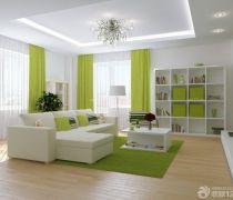 清新60平米房子小户型大客厅怎么装修