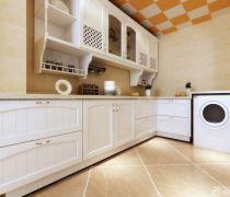 厨房白色厨房橱柜装修效果图片大全