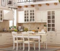 欧式厨房吊柜整体橱柜效果图欣赏