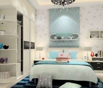 2020住房室内卧室衣柜装饰效果图