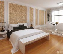 住房卧室室内壁纸装饰效果图片