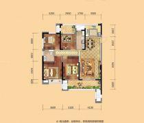 超好户型2020四房一厅设计图