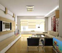 现代简约风格80平米的房子如何装修图片