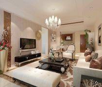 如何装修80平米的房子客厅家具摆放效果图