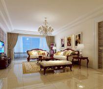 美式实木家具80平米的房子客厅如何装修效果图