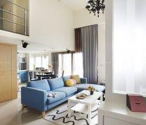 美式复式80平米的房子如何装修效果图欣赏