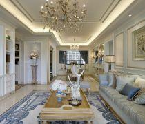 80个平方的房子豪华客厅装修效果图欣赏