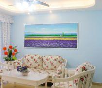 简约田园风格80个平方的房子装修效果图片欣赏