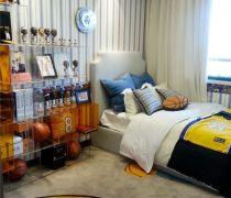 80个平方的房子儿童卧室装修效果图欣赏