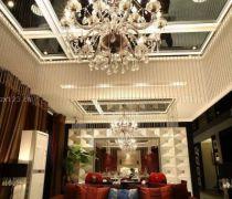 中式古典装修看吊灯效果图