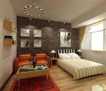 40-50平方小户型公寓床装修效果图片