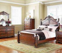 豪宅别墅实木家具卧室家具设计效果图片欣赏