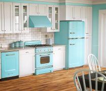 90平标准户型整体厨房装修效果图片