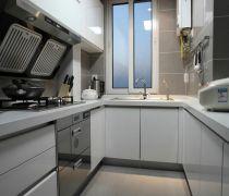 140平米20万整体厨房装修效果图片