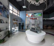 最新空调店面个性吊顶装修设计效果图片