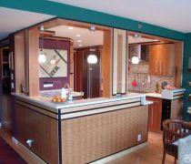 小户型开放式厨房放式厨房装修设计效果图