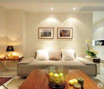 60平米房屋沙发床最新装修效果图欣赏