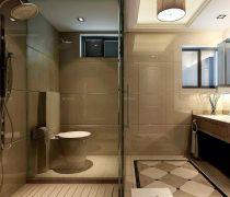 两居室卫生间淋浴房的装修图片