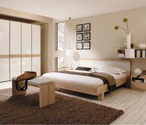卧室板式家具衣柜装修效果图片