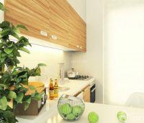 小户型开放式厨房吊柜图片