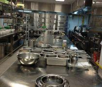 酒店厨房设计 厨房吊柜装修效果图