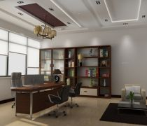 写字楼理办公室装修效果图大全