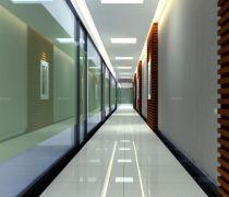 公司走廊防滑地板砖装修效果图片