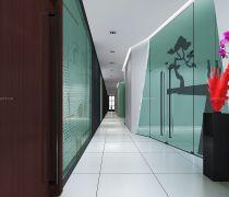 公司走廊防滑地板砖装修效果图