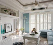 地中海装修风格好看的客厅设计图片
